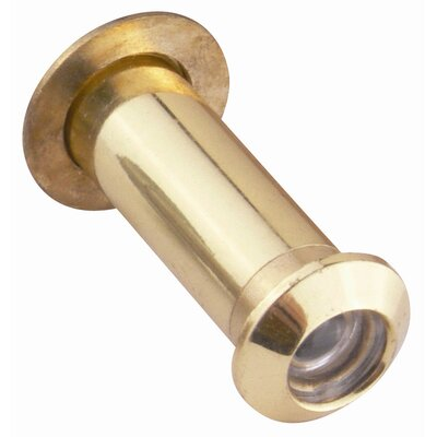 Small Door Viewer with 160-Degree Visual Angle (Set of 2) Finish: Satin Brass