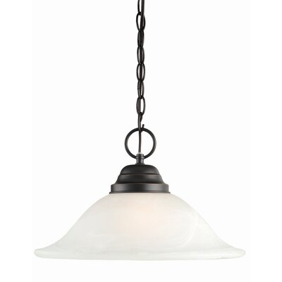 Millbridge 1-Light Pendant Finish: Oil Rubbed Bronze