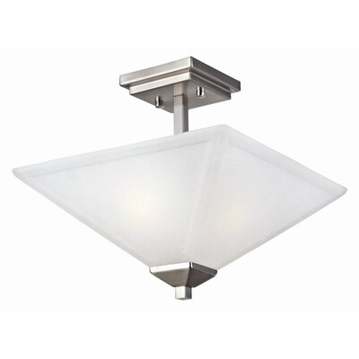 Torino 2-Light Semi Flush Mount