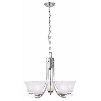 Bendigo 5-Light Shaded Chandelier