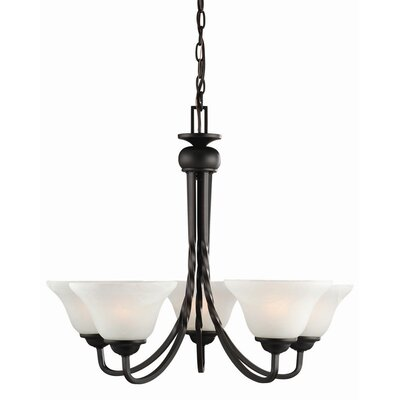 Drake 5-Light Shaded Chandelier