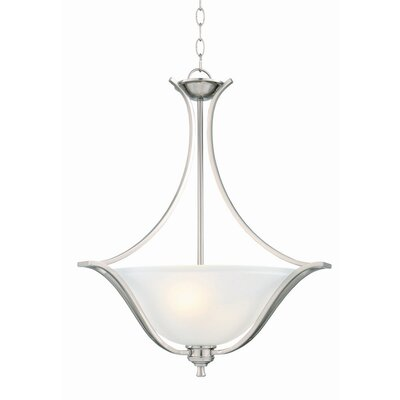 Ironwood 2-Light Inverted Pendant
