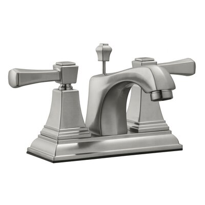 Torino Centerset Bathroom Faucet Finish: Satin Nickel