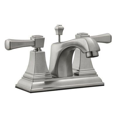 Torino Centerset Bathroom Faucet Finish: Satin Nickel