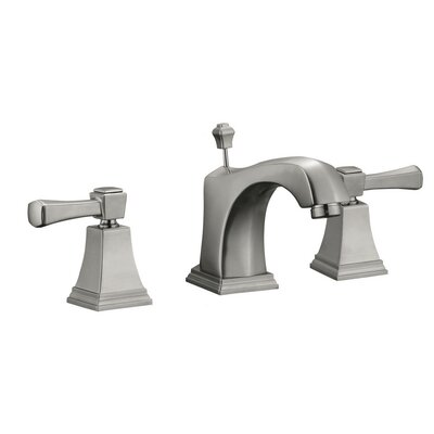 Torino Wide Spread Double Handle Bathroom Faucet Finish: Satin Nickel