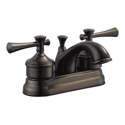 Ironwood Double Handle Centerset Bathroom Faucet Finish: Brushed Bronze