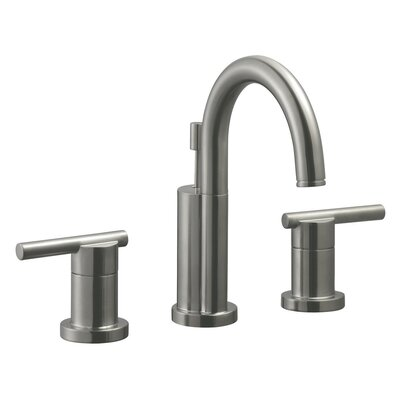 Geneva Double Handle Wide Spread Bathroom Faucet Finish: Satin Nickel
