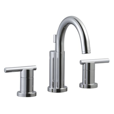 Geneva Double Handle Wide Spread Bathroom Faucet Finish: Polished Chrome