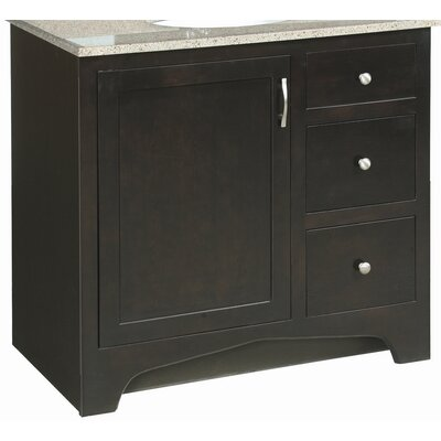 Ventura 36 Vanity Base with Cam Lock and Screw