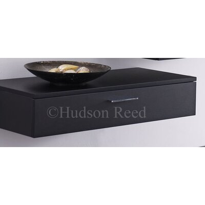 Hudson Reed Black Wood Levity Side Cabinet