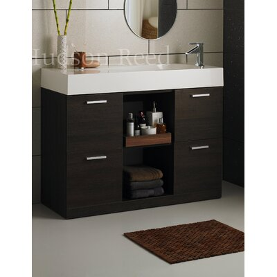 Hudson Reed Chalice Basin and Cabinet in Oak