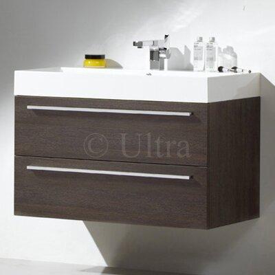 Ultra Faith Basin and Cabinet in Oak