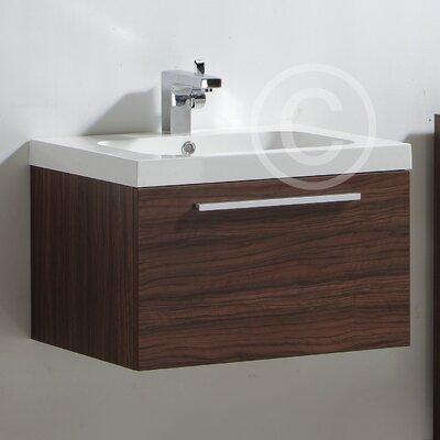 Ultra Glide Basin and Cabinet in Walnut