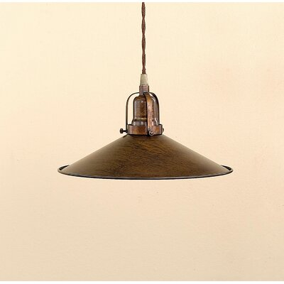Rustic DAvo 1-Light Large Pendant Finish: Earth