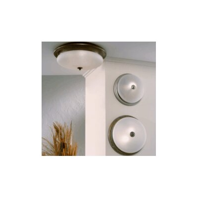 Classic Scavo 1-Light Semi Flush Mount Size / Finish / Shade Color: 12.6 / Earth / Acid