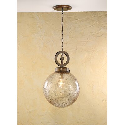 Rustik Aranha 1-Light Pendant Finish: Earth