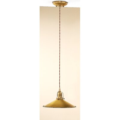 Rustic DAvo 1-Light Large Pendant Finish: Antique Brass Mat