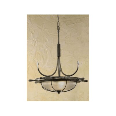 Nautic Leme 2-Light Inverted Pendant Finish: Brushed Nickel