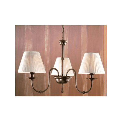Classic Obidos Three Light Chandelier