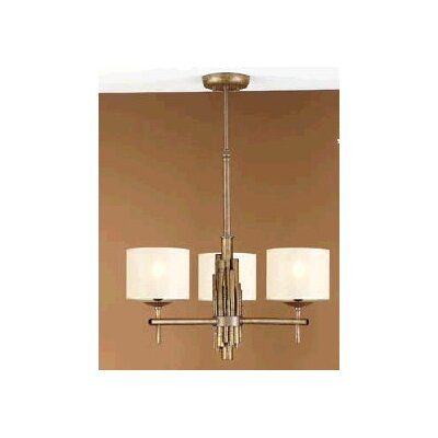 Rustik Bambu Three Light Chandelier