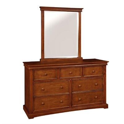 Cambridge 7 Drawer Double Dresser