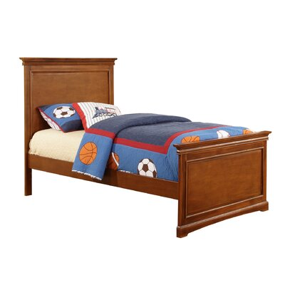 Cambridge Full Panel Bed Size: Twin, Color: Chestnut 9741700