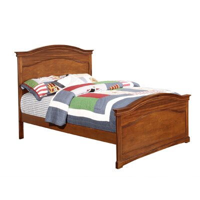 Cambridge Panel Bed Size: Full, Color: Chestnut
