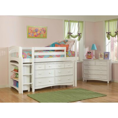 Furniture gt bedroom furniture gt loft bed gt full low loft bed