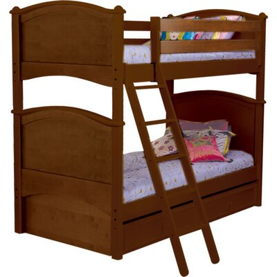 No credit check financing Cooley Twin over Twin Bunk Bed with...