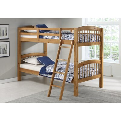 Bechtol Bunk Bed Bed Frame Color: Cinnamon