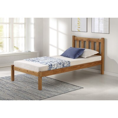 Beck Platform Bed Size: Full, Bed Frame Color: Cinnamon