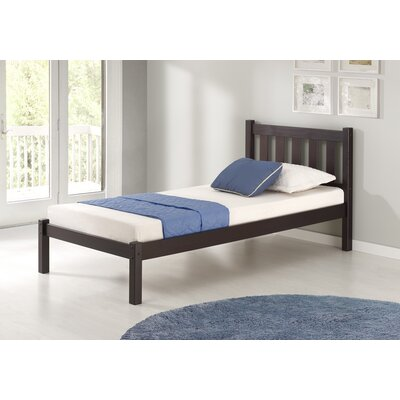 Beck Platform Bed Size: Twin, Bed Frame Color: Espresso