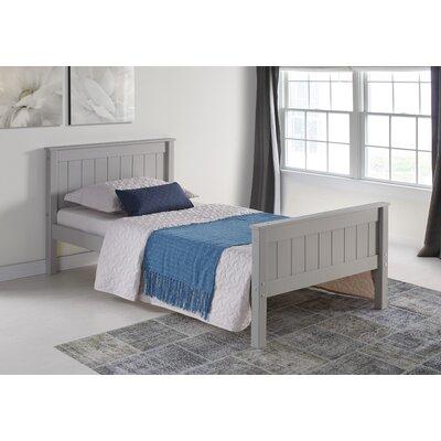 Beckett Slat Bed Size: Full, Bed Frame Color: Dove Gray
