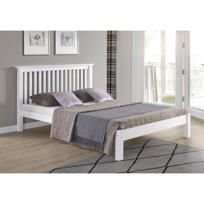 Beckmann Platform Bed Size: Full, Bed Frame Color: White
