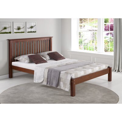 Beckmann Platform Bed Size: Full, Bed Frame Color: Chestnut