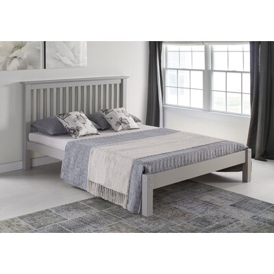 Beckmann Platform Bed Size: Twin, Bed Frame Color: Dove Gray