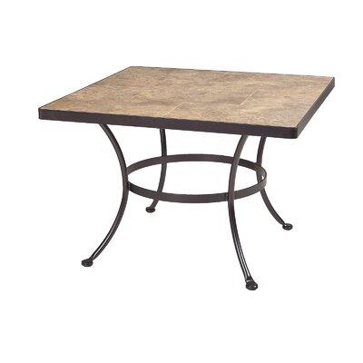 Monterra Chat Table Espresso Top Rustic Slate picture