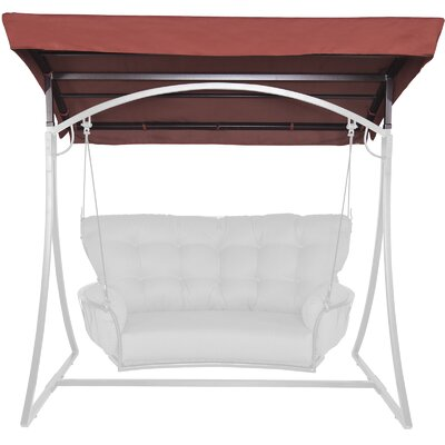 Monterra Canopy And Canopy Frame Cuddle Swing Textured Fabric Wood - Product photo
