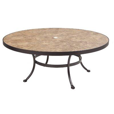Monterra Coffee Table Umbrella Hole Espresso Table H - Product photo