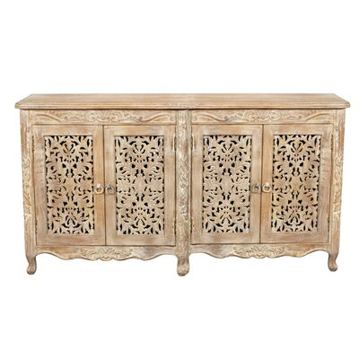 Aveliss White Antique Sideboard