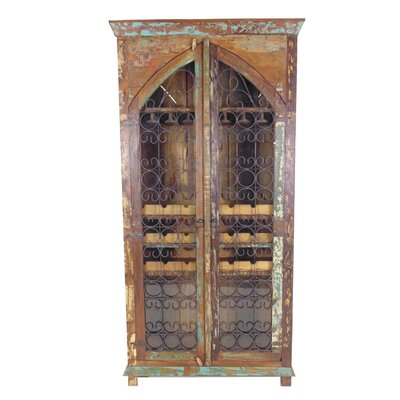 21 Bottle Floor Wine Cabinet