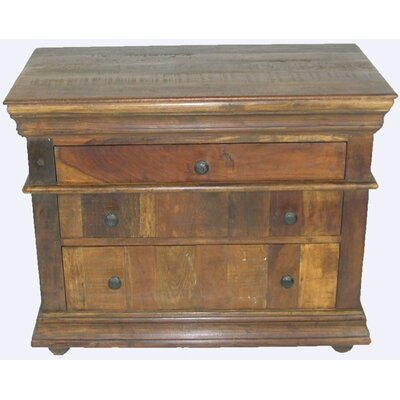 3 Drawer Bachelors Chest