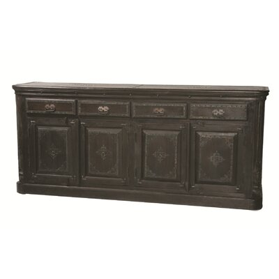 Wilmington 4 Drawer Pillar Sideboard