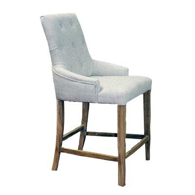 21 Bar Stool Upholstery: Ivory