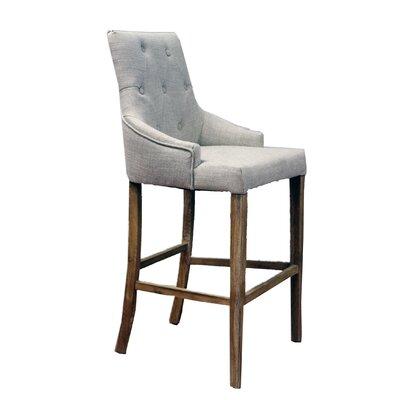 26 Bar Stool Upholstery: Ivory