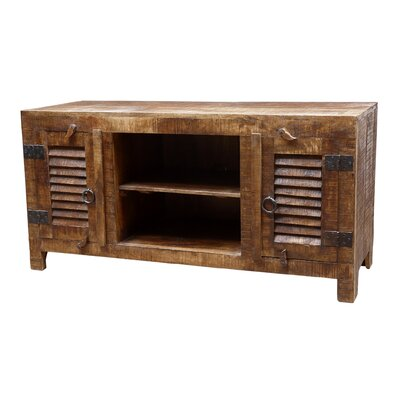 Troy 60 TV Stand Color: Honey