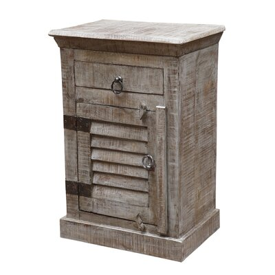 Troy 1 Drawer Nightstand
