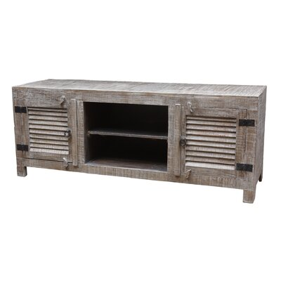 Troy 60 TV Stand Color: Gray Wash