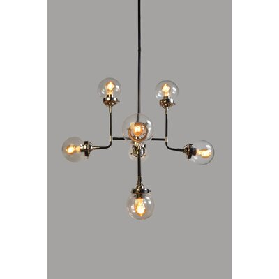 8-Light Sputnik Chandelier