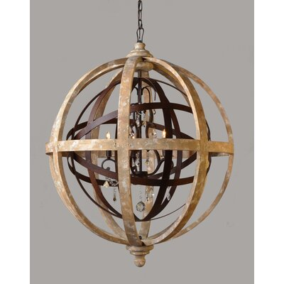5-Light Globe Pendant